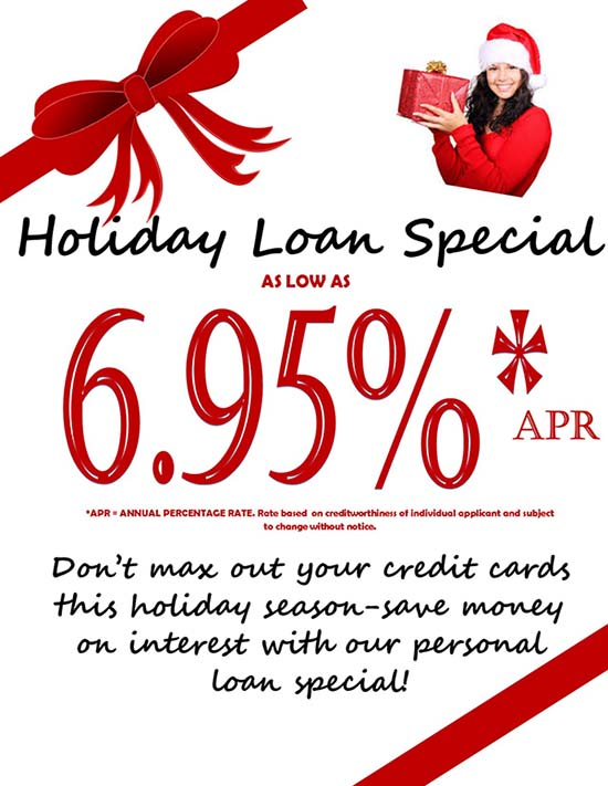 GNFCU holiday loan